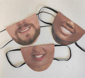 Masque de protection visage pour coronavirus
