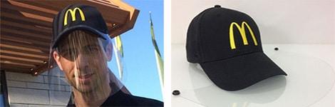 fournisseur casquettes visières de protection